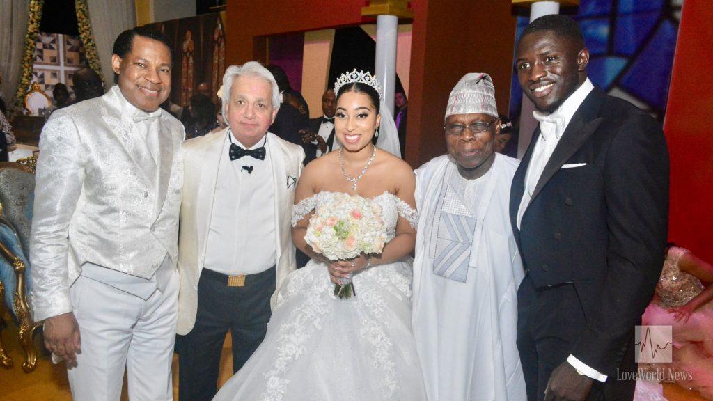 Royal Wedding of Sharon Oyakhilome & Phillip Frimpong