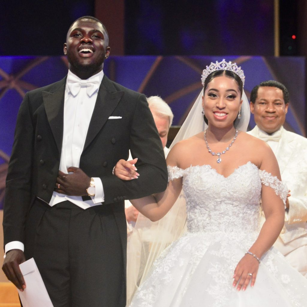 Wedding Photo of Sharon and Philip Oyakhilome