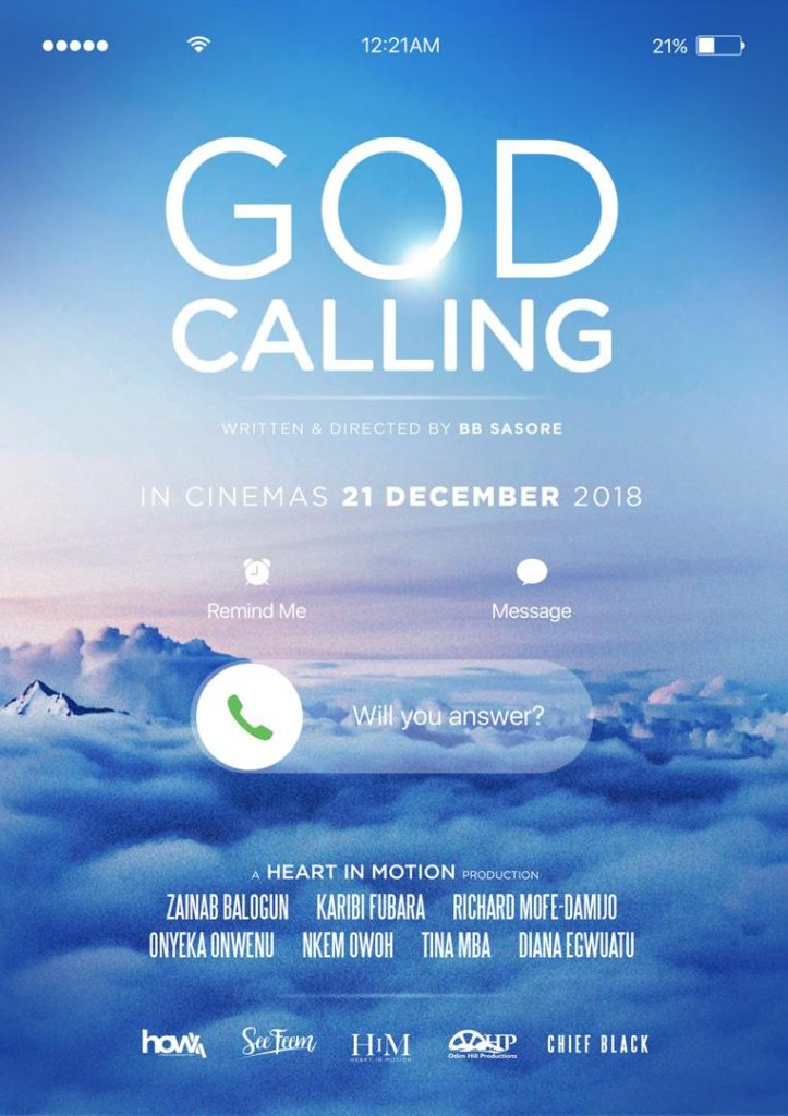 BB Sasore reveals Inspiration behind Highly Anticipated Christmas Blockbuster, God Calling