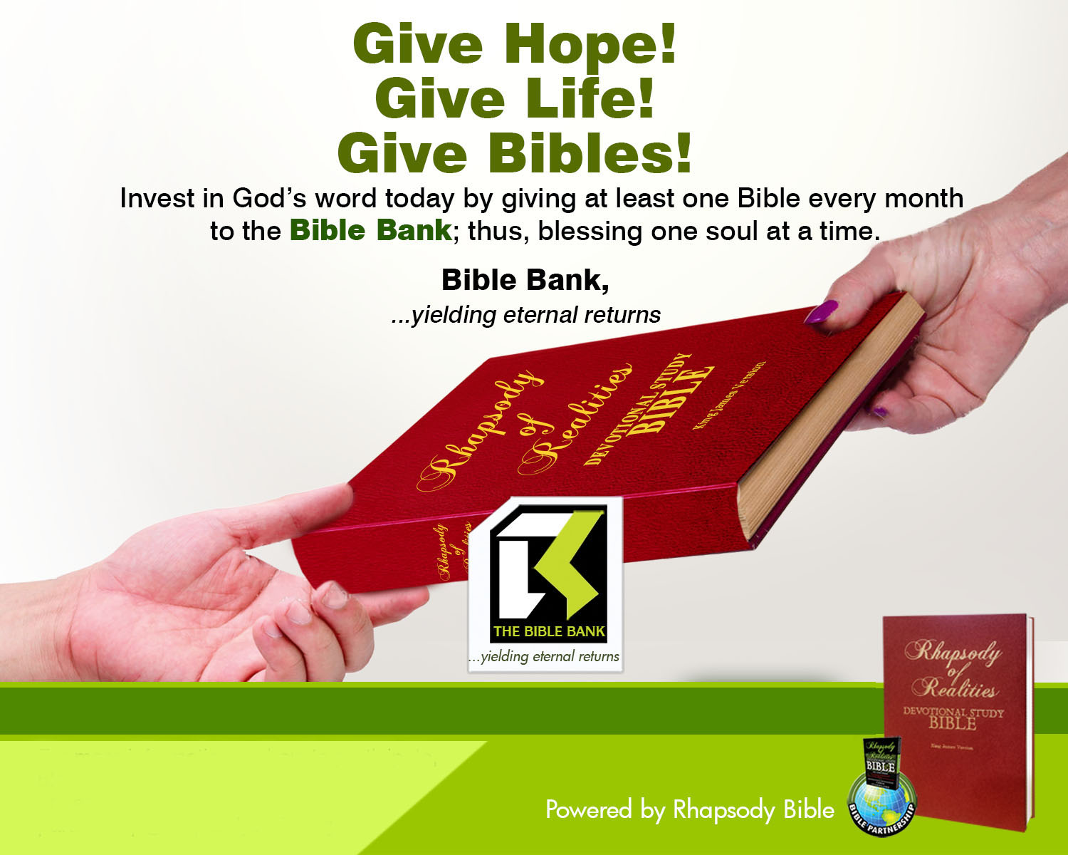 Rhapsody of Realities Bible