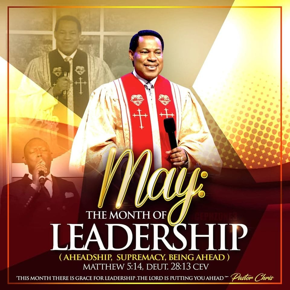 GLOBAL COMMUNION SERVICE WITH PASTOR CHRIS (SUNDAY, 5TH MAY, 2019