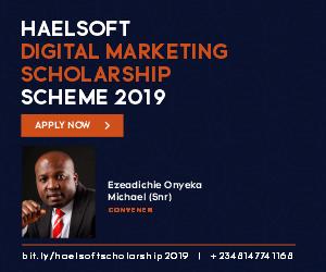 Digital Marketing Scholarship Lagos Nigeria