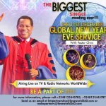 WATCH THE DECEMBER 31ST GLOBAL SERVICE WITH PASTOR CHRIS OYAKHILOME ONLINE