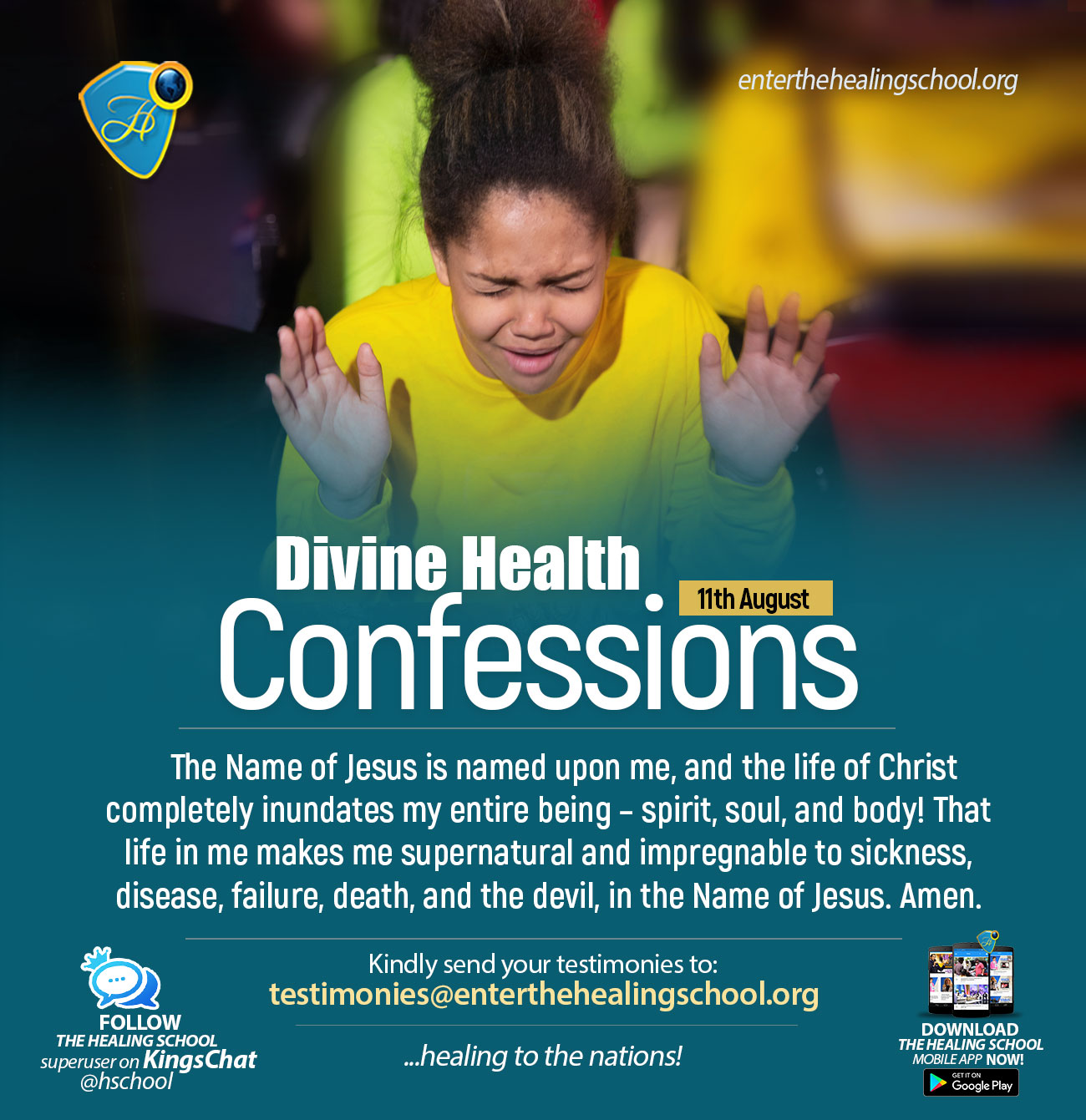HEALING CHRISTIAN CONFESSIONS
