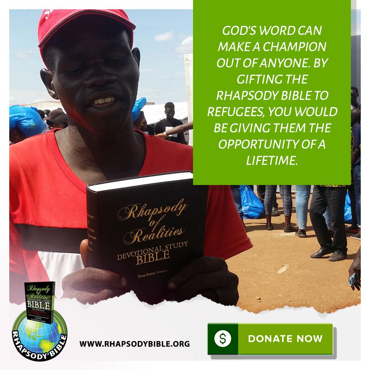 Rhapsody of Realities Bibel Campaign Online