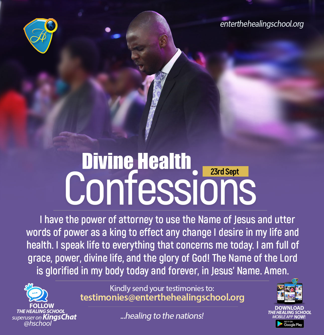 HEALING CONFESSION