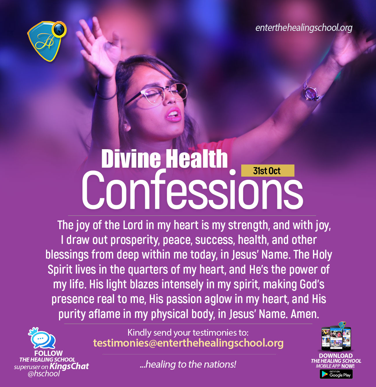 Healing-Confessions
